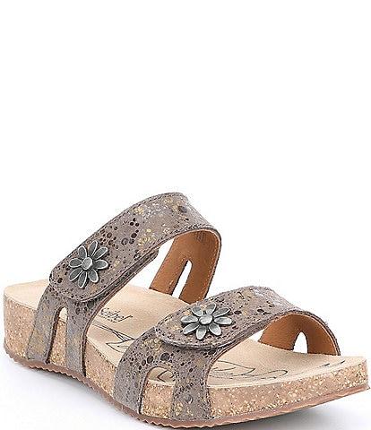 Josef Seibel Tonga 04 Leather Slide Sandals