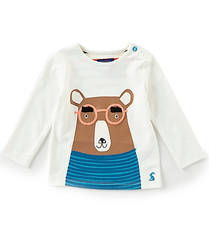 Joules Baby Boys 12-18 Months Jack Applique Long Sleeve Jersey Top