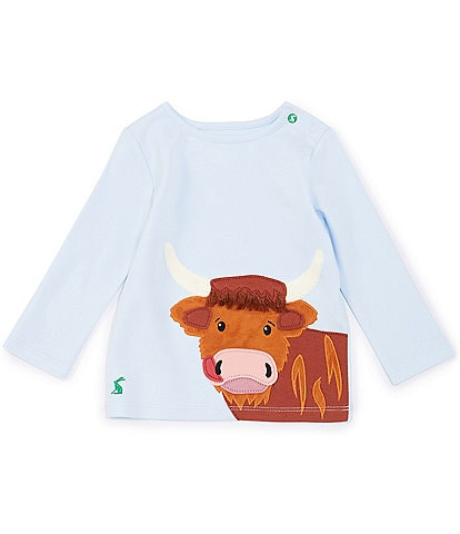 Joules Baby Boys 3-24 Months Long-Sleeve Angus Graphic Tee