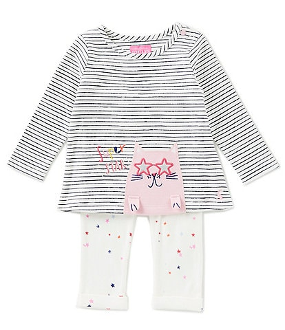Joules Baby Girls 12-18 Months Olivia Applique Set