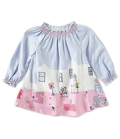 Joules Baby Girls 3-18 Months Elsie Woven Smock Dress