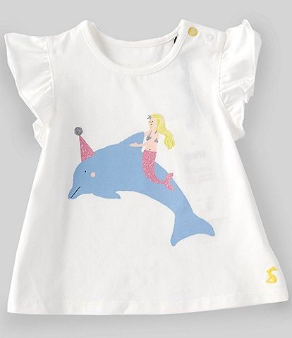 Joules Baby Girls 3-24 Months Short-Sleeve Pixie Graphic Tee