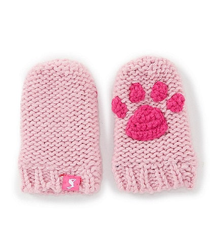 Joules Baby Girls 6-24 Months Paw Mittens