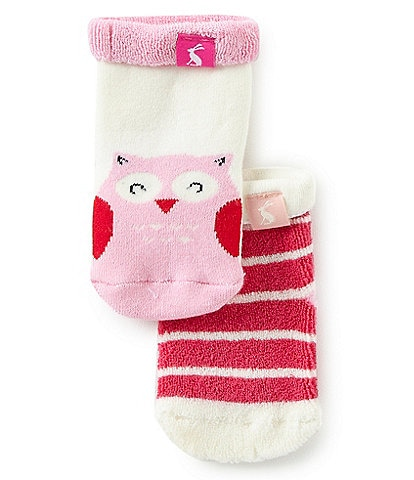 Joules Baby Girls Newborn-12 Months Terry Character Socks