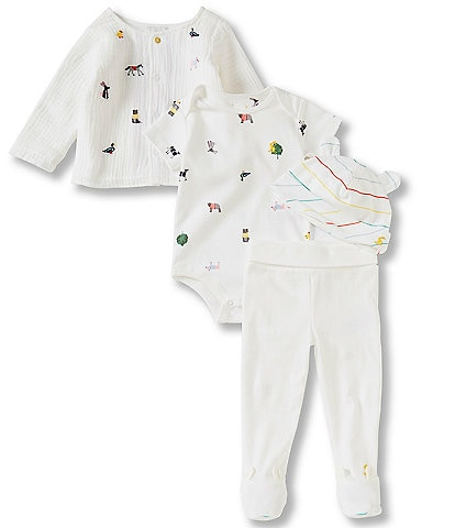 Joules Baby Preemie-12 Months My First Outfit 4-Piece Layette Set