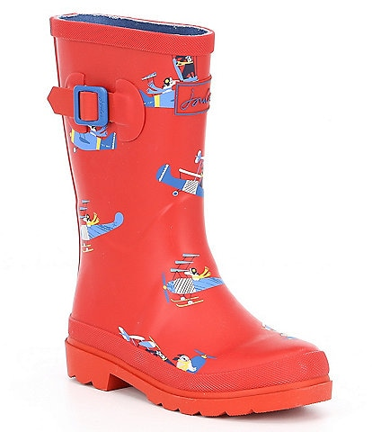 Joules Boys' Welly Rain Boots Youth