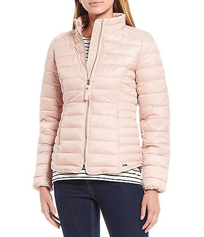 Joules Canterbury Luxe Quilted Short Puffer Jacket