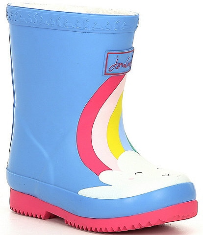 Joules Girls' Welly Printed Rain Boots (Infant)
