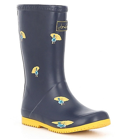 Joules Girls' Welly Roll Up Rain Boots (Youth)