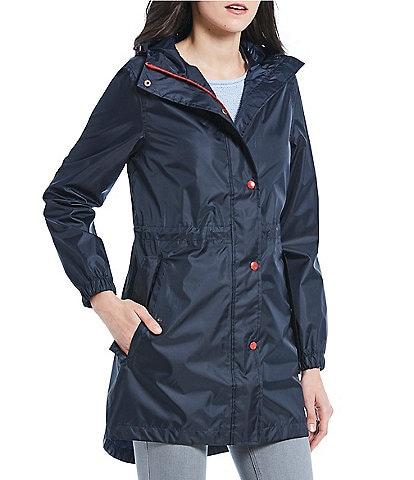Joules Golightly Pack-Away Waterproof Raincoat