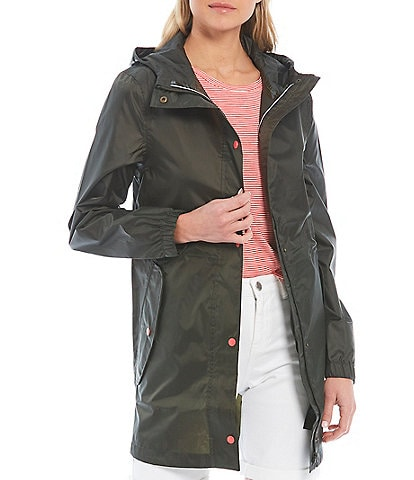 Joules Golightly Stand Collar Long Sleeve Waterproof Jacket