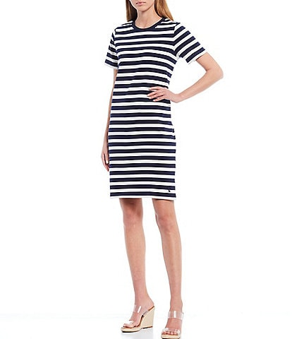 Joules Liberty Striped Jersey Knit Dress