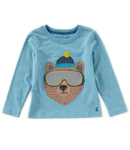Joules Little Boys 2-6 Chomp Applique Top