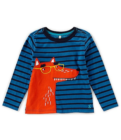 Joules Little Boys 2-6 Jack Applique Long Sleeve Jersey Top
