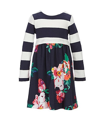 Joules Little Girls 2-6 Layla Jersey Woven Mix Dress