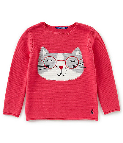 Joules Little Girls 2-6 Winnie Knitted Intarsia Sweater