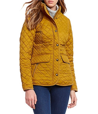 Joules Newdale Quilted Button Front Jacket