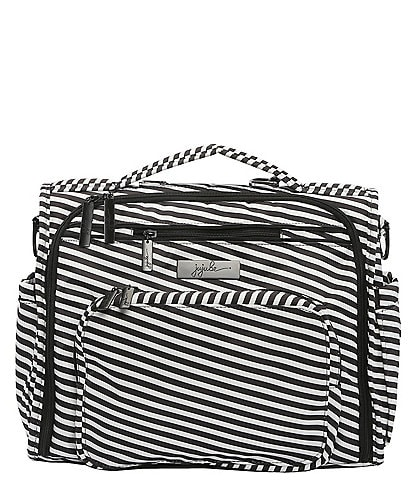 Ju-Ju-Be B.F.F. Black Magic Striped Diaper Bag