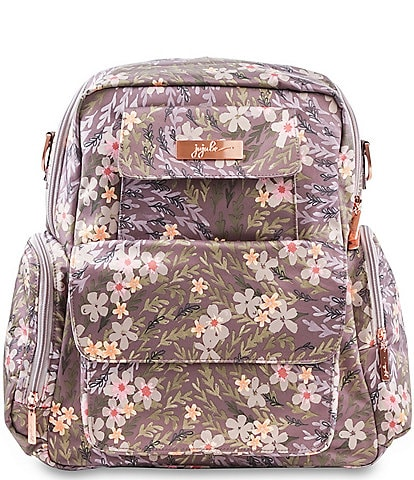 Ju-Ju-Be Be Nurtured Sakura Floral at Dusk Pumping Backpack