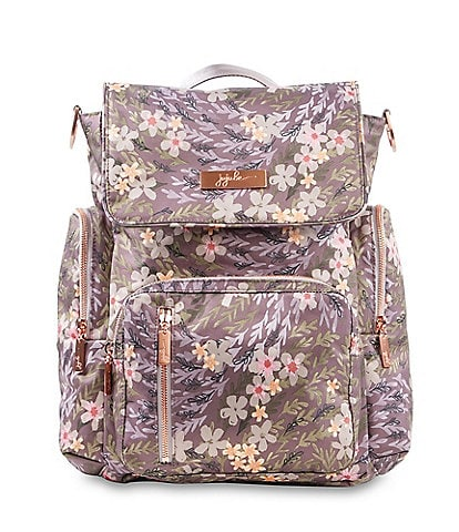 Ju-Ju-Be Be Sporty Sakura Floral at Dusk Backpack