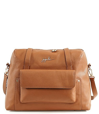 Ju-Ju-Be Wherever Weekender Faux Leather Diaper Bag