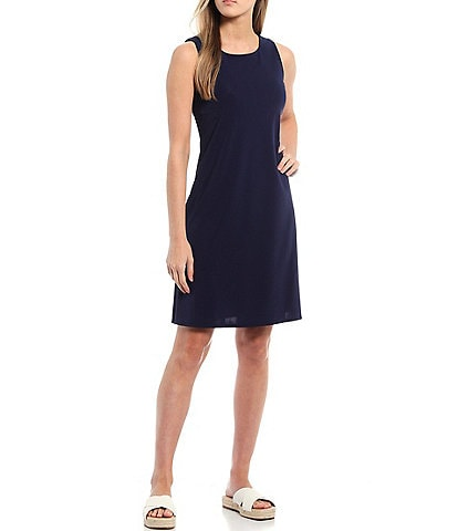 Jude Connally Beth Sleeveless Jewel Neck A-Line Dress