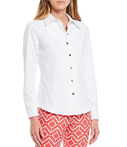 Jude Connally Taylor Long Sleeve Button Front Blouse