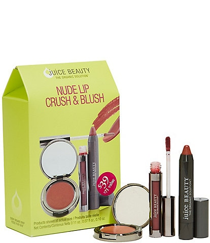 Juice Beauty Nude Lip Crush and Blush Nude Kit