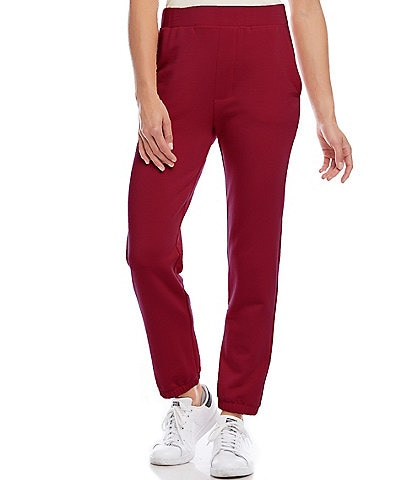 Karen Kane Solid Ankle Length Jogger Pants