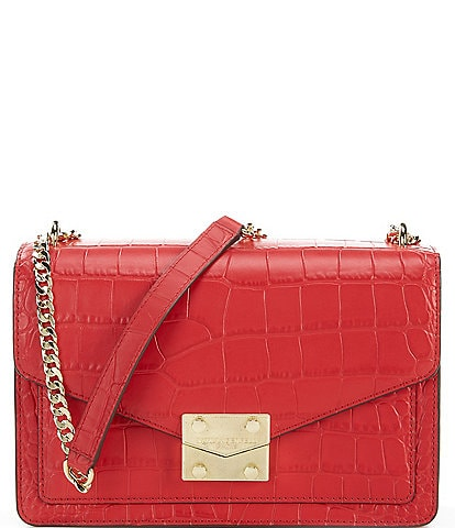 KARL LAGERFELD PARIS Corinne Flap Shoulder Bag