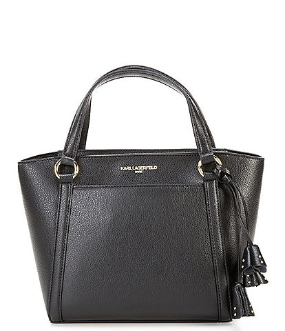 KARL LAGERFELD PARIS Iris Hermin Mini Tote Bag