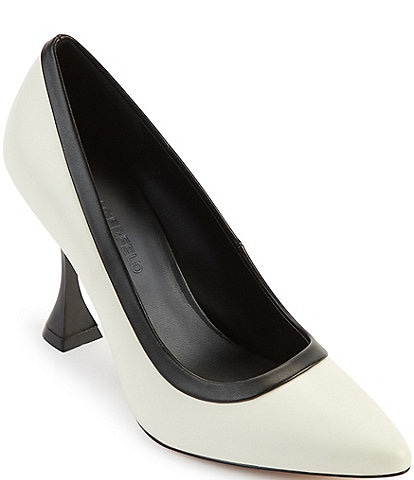 KARL LAGERFELD PARIS Lanea Colorblock Leather Pumps