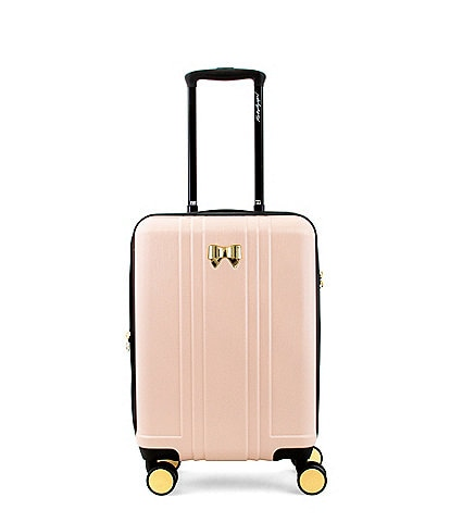 KARL LAGERFELD PARIS Pleats and Bows Carry-On Spinner