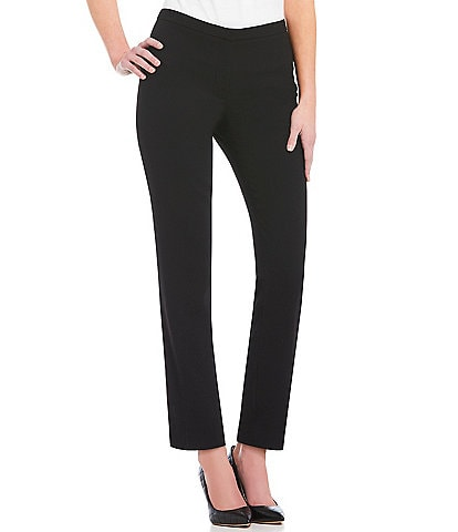 KARL LAGERFELD PARIS Flat Front Skinny Leg Ankle Pant