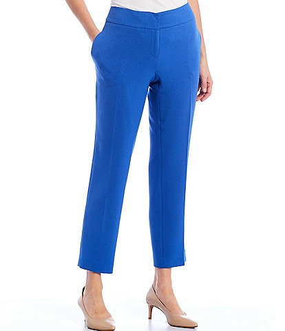 Kasper Petite Size Cropped Slim Pant