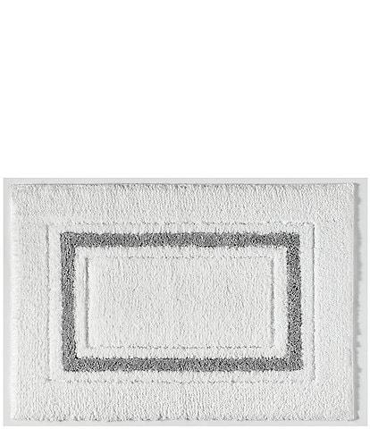 Kassatex Framed Stripe Bath Rug