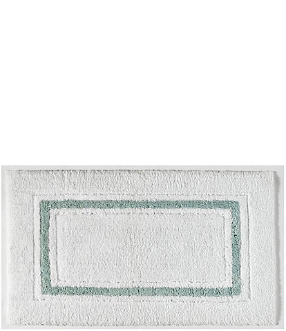 Kassatex Framed Stripe Bath Rug
