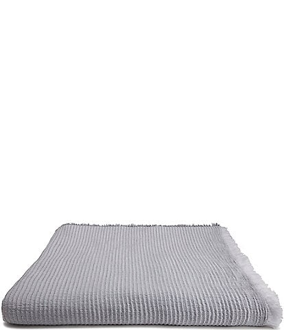 Kassatex Madrid Garment Washed Bed Blanket