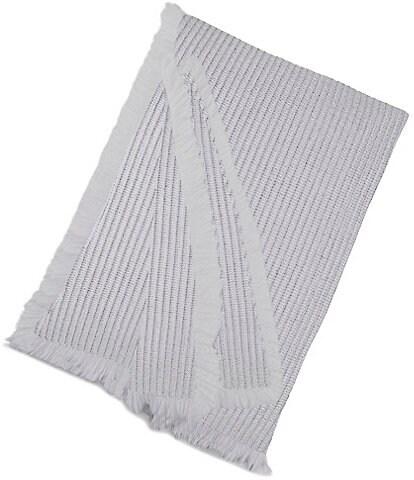 Kassatex Madrid Textured Cotton Throw