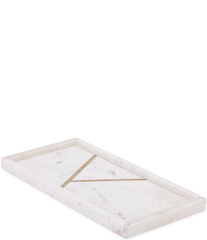 Kassatex Marble Brass Tray