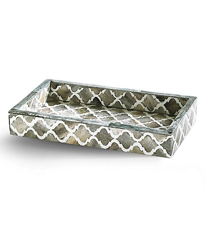 Kassatex Marrakesh Trellis Bone Tray