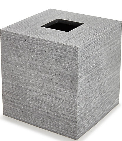 Kassatex Slate Tissue Box Holder