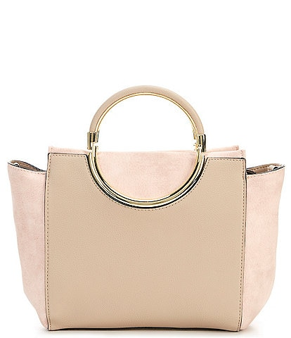 Kate Landry Ainsley Top Zip Colorblock Satchel