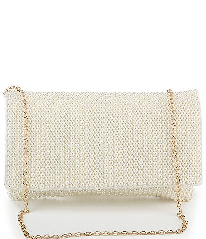 Kate Landry All Over Pearl Clutch