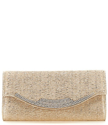 Kate Landry Bark Rhinestone Clutch