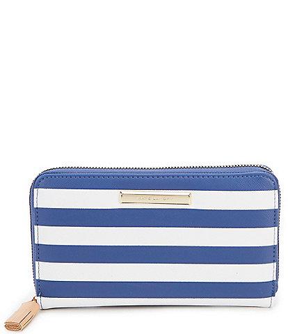 Kate Landry Cabana Single Back Zip Wallet
