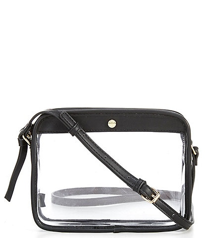 Kate Landry Clear Camera Crossbody Bag