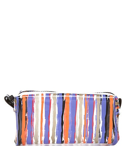 Kate Landry Clear Print Cube Pouch