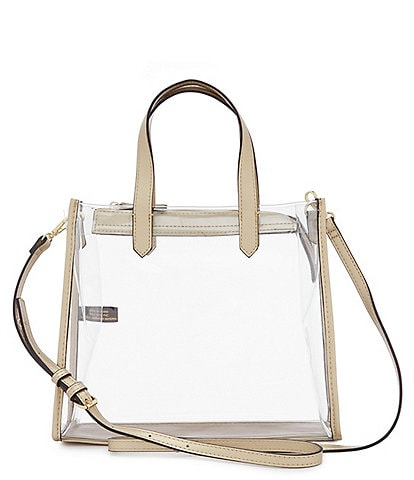 Kate Landry Clear Stadium Top Handle Satchel