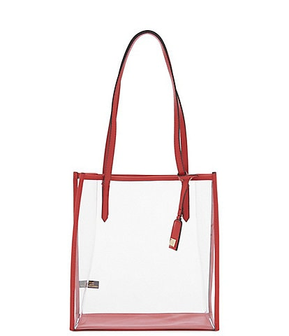 Kate Landry Clear Stadium Tote Bag